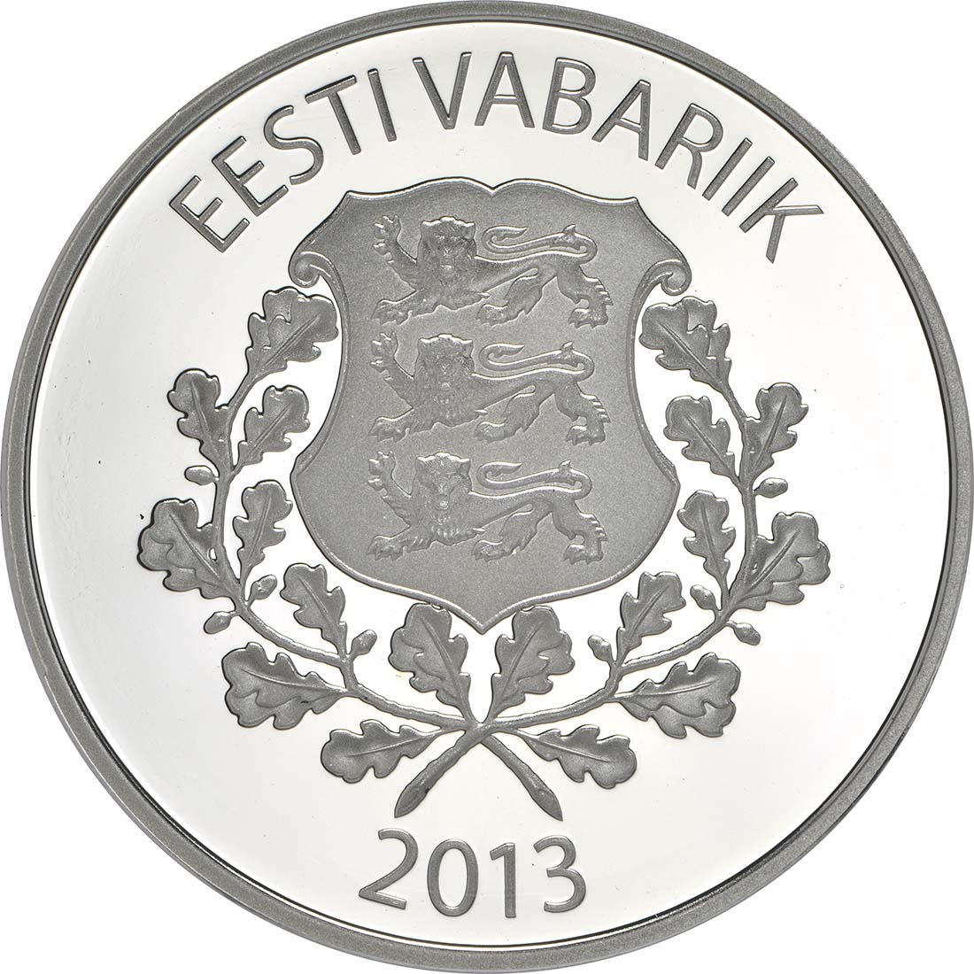 Rückseite:Estland : 7 Euro Raimond Valgre  2013 PP