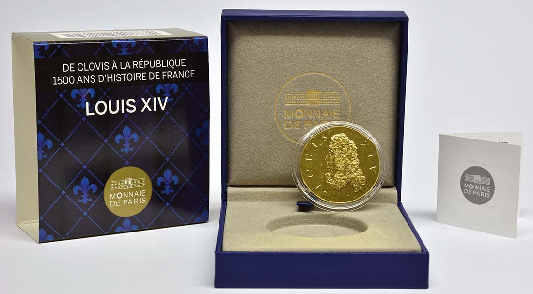 Lieferumfang:Frankreich : 200 Euro Louis XIV.  2014 Stgl.