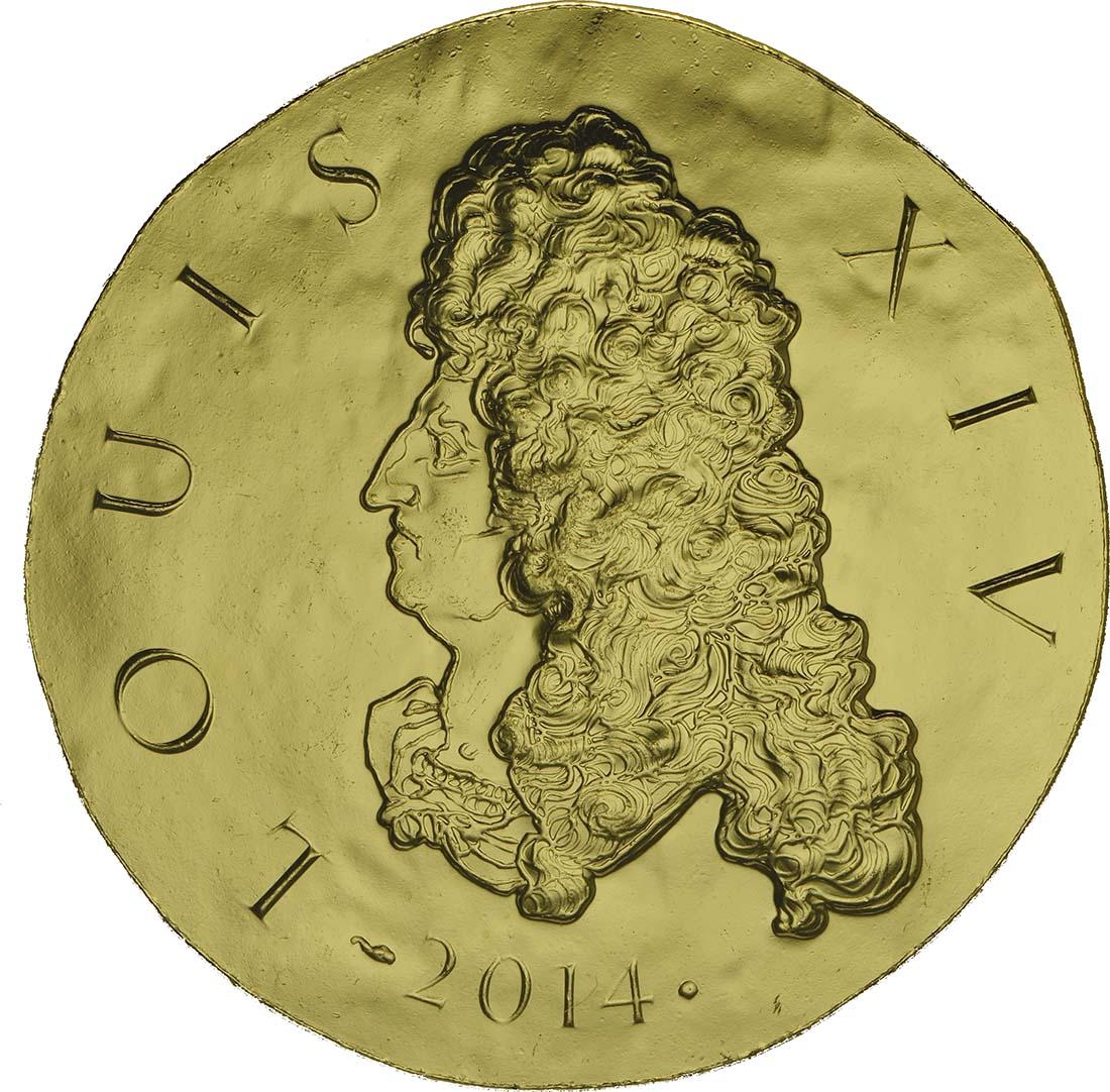 Vorderseite:Frankreich : 200 Euro Louis XIV.  2014 Stgl.