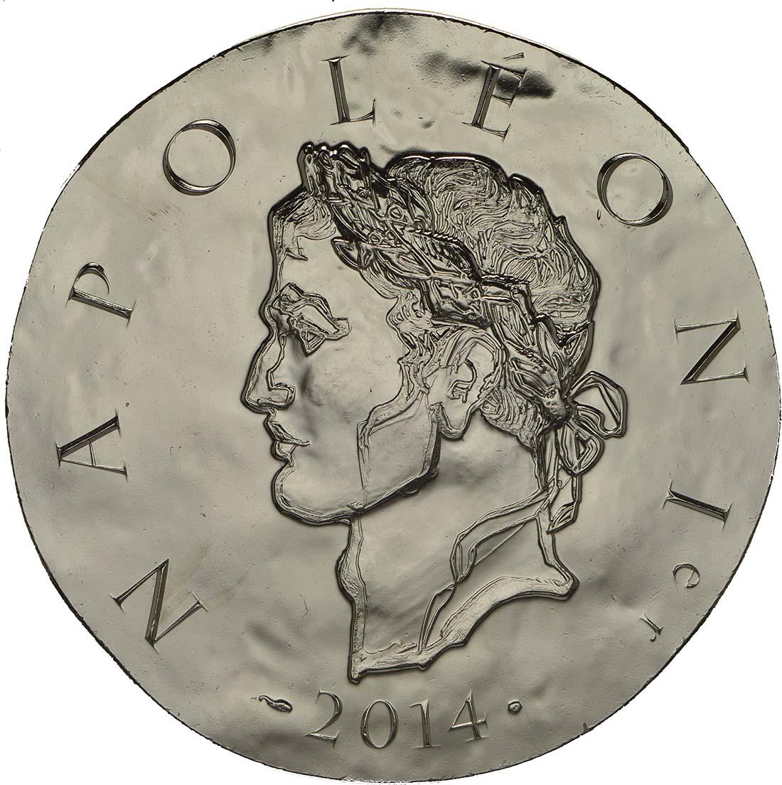 Vorderseite:Frankreich : 10 Euro Napoleon I.  2014 Stgl.