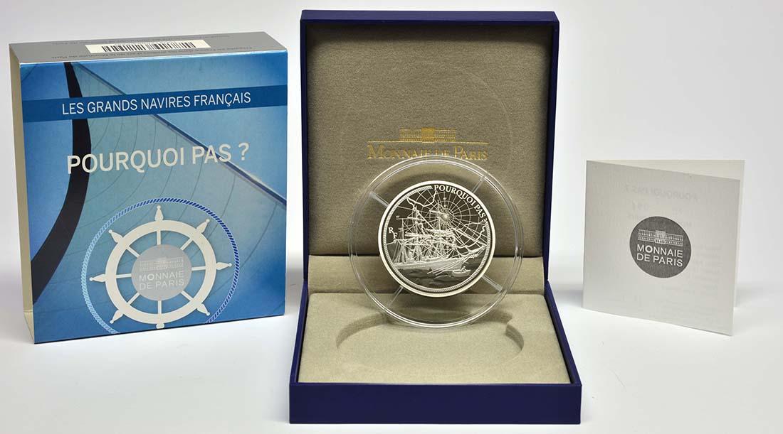 Lieferumfang:Frankreich : 50 Euro Pourquoi Pas  2014 PP