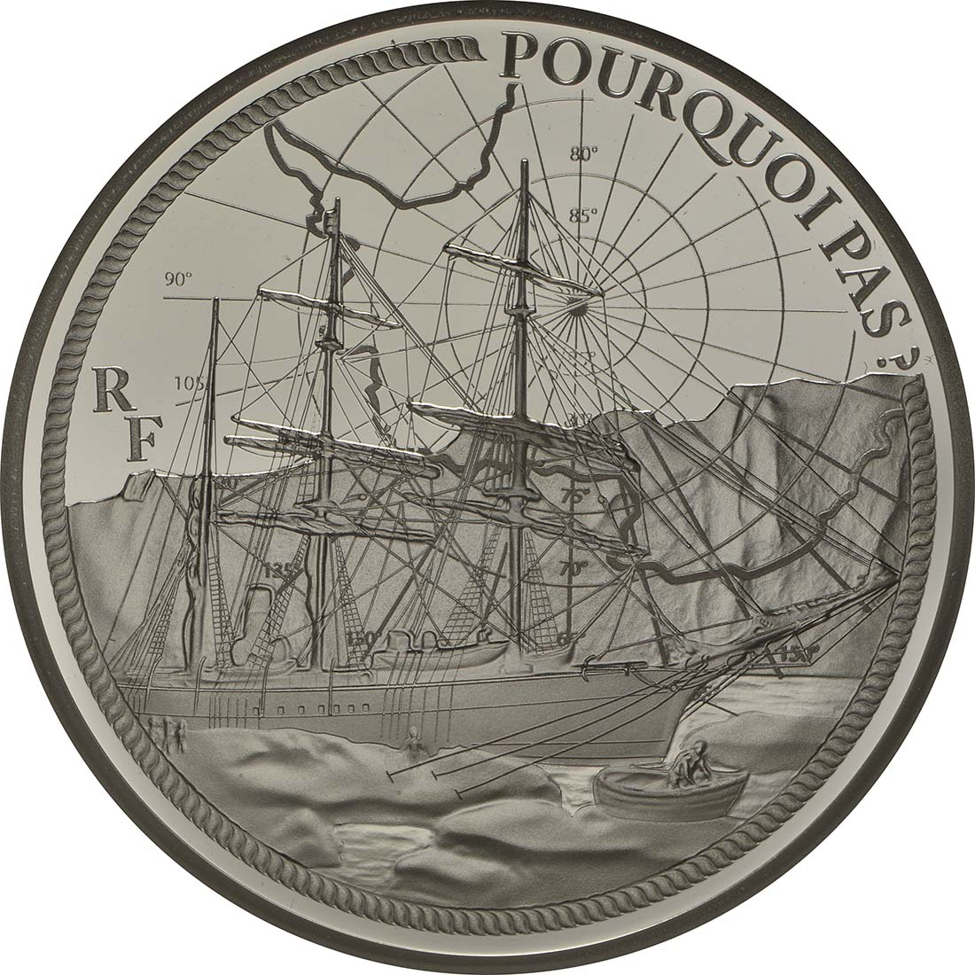 Vorderseite:Frankreich : 10 Euro Pourquoi Pas  2014 PP
