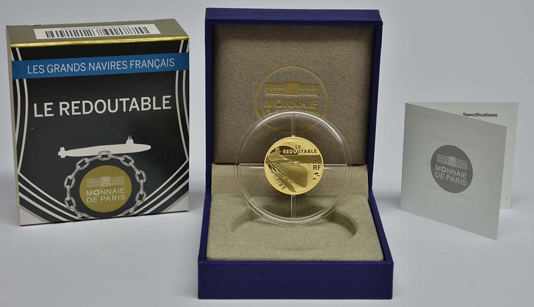 Lieferumfang:Frankreich : 50 Euro Redoutable  2014 PP
