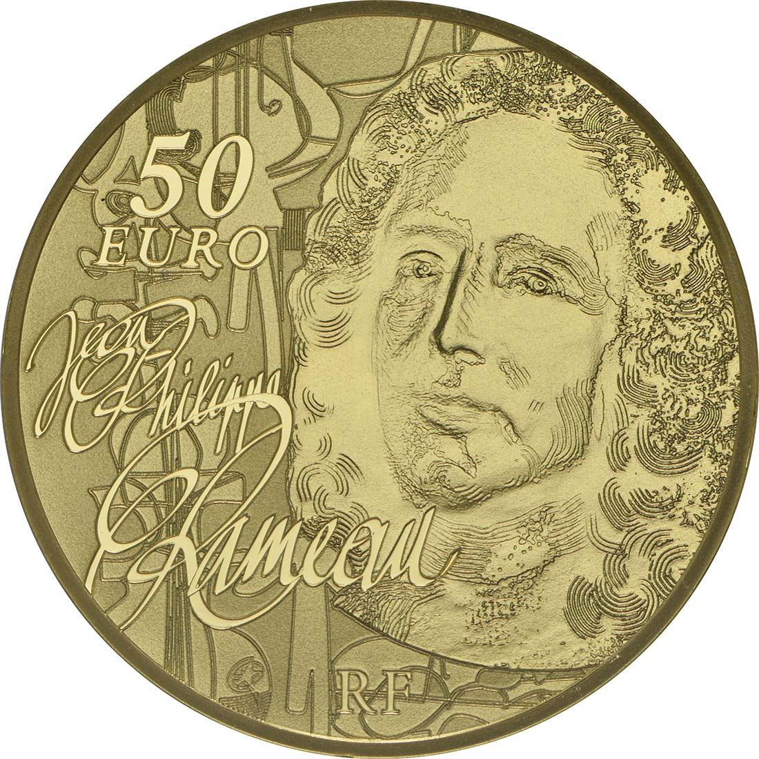 Rückseite:Frankreich : 50 Euro Jean Baptiste Rameau  2014 PP