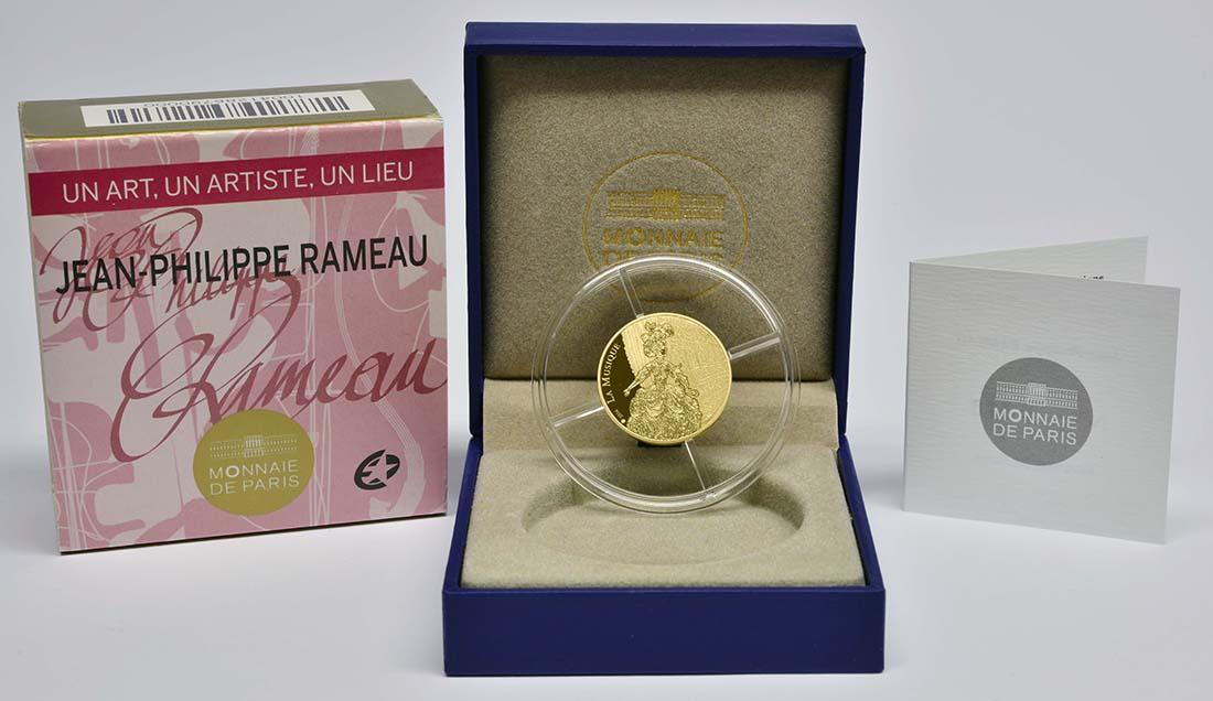 Lieferumfang:Frankreich : 50 Euro Jean Baptiste Rameau  2014 PP