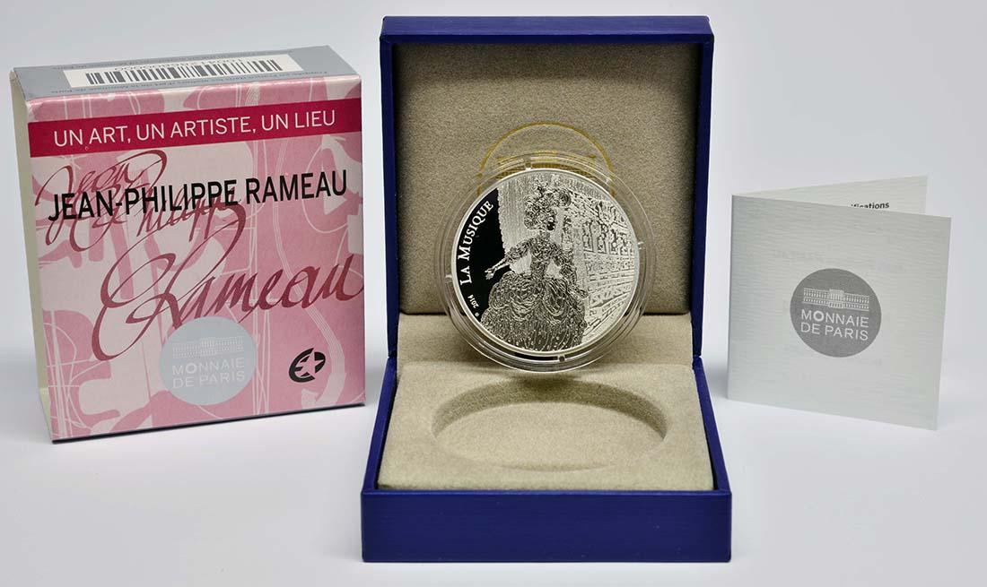 Lieferumfang:Frankreich : 10 Euro Jean Baptiste Rameau  2014 PP
