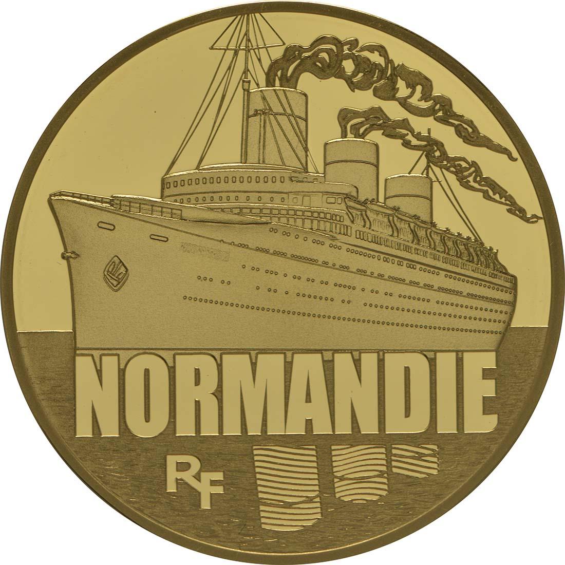Vorderseite:Frankreich : 50 Euro Le Normandie  2014 PP