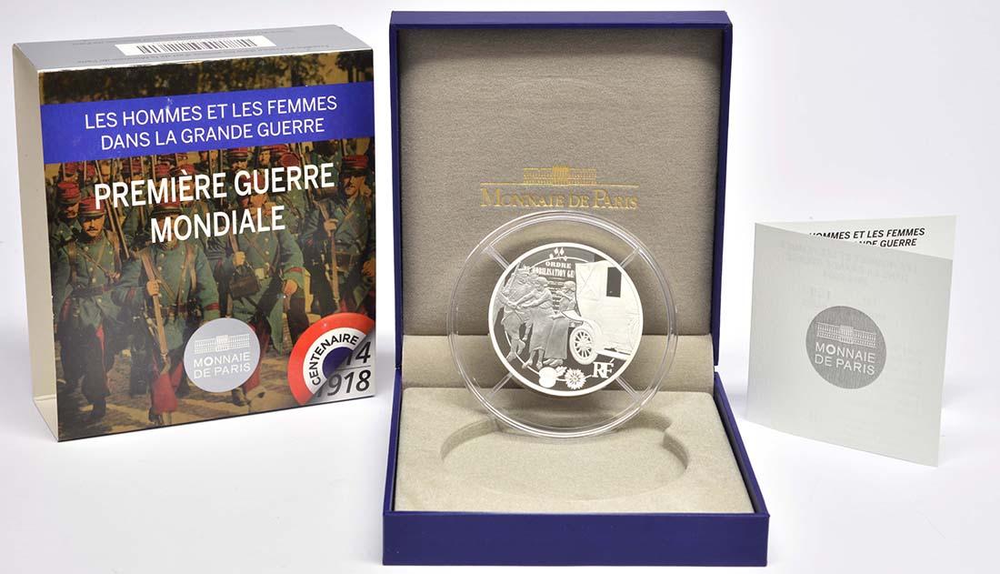 Lieferumfang:Frankreich : 50 Euro Frankreich im 1. Weltkrieg  2014 PP