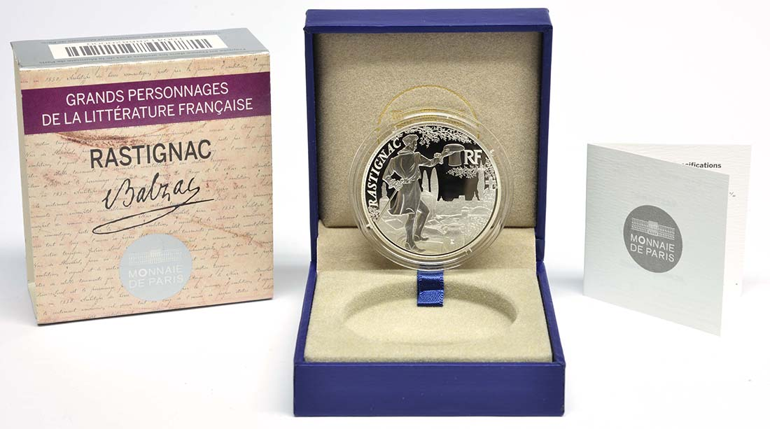 Lieferumfang:Frankreich : 10 Euro Rastignac  2014 PP