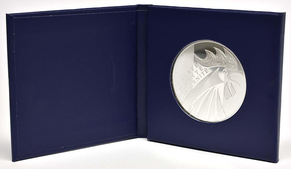 Lieferumfang:Frankreich : 100 Euro Gallischer Hahn  2014 Stgl.