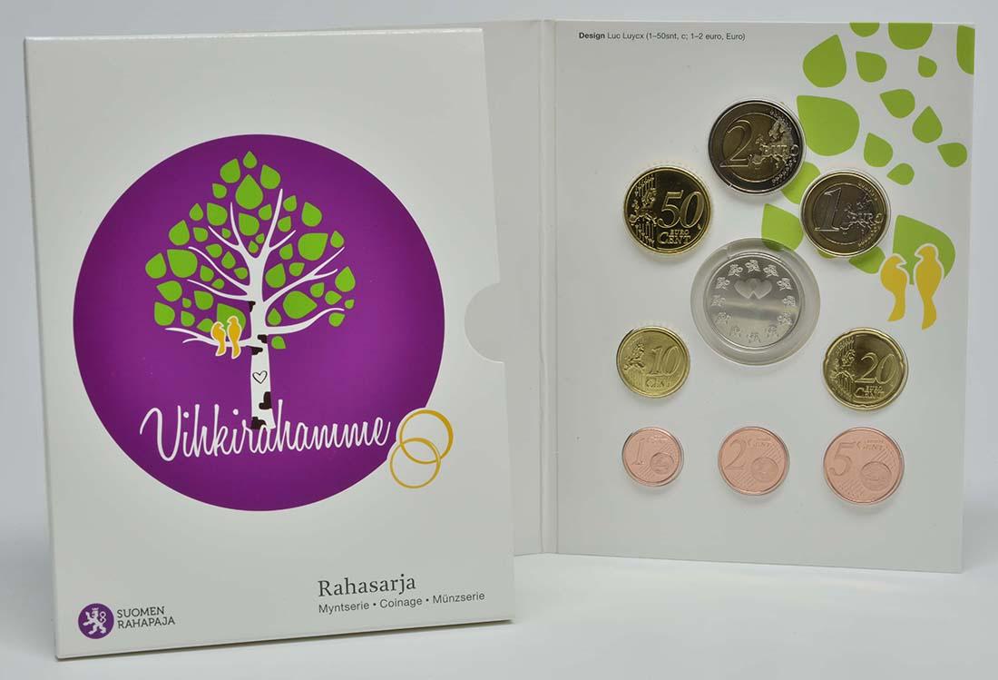 Lieferumfang:Finnland : 3,88 Euro KMS Hochzeit  2014 Stgl.