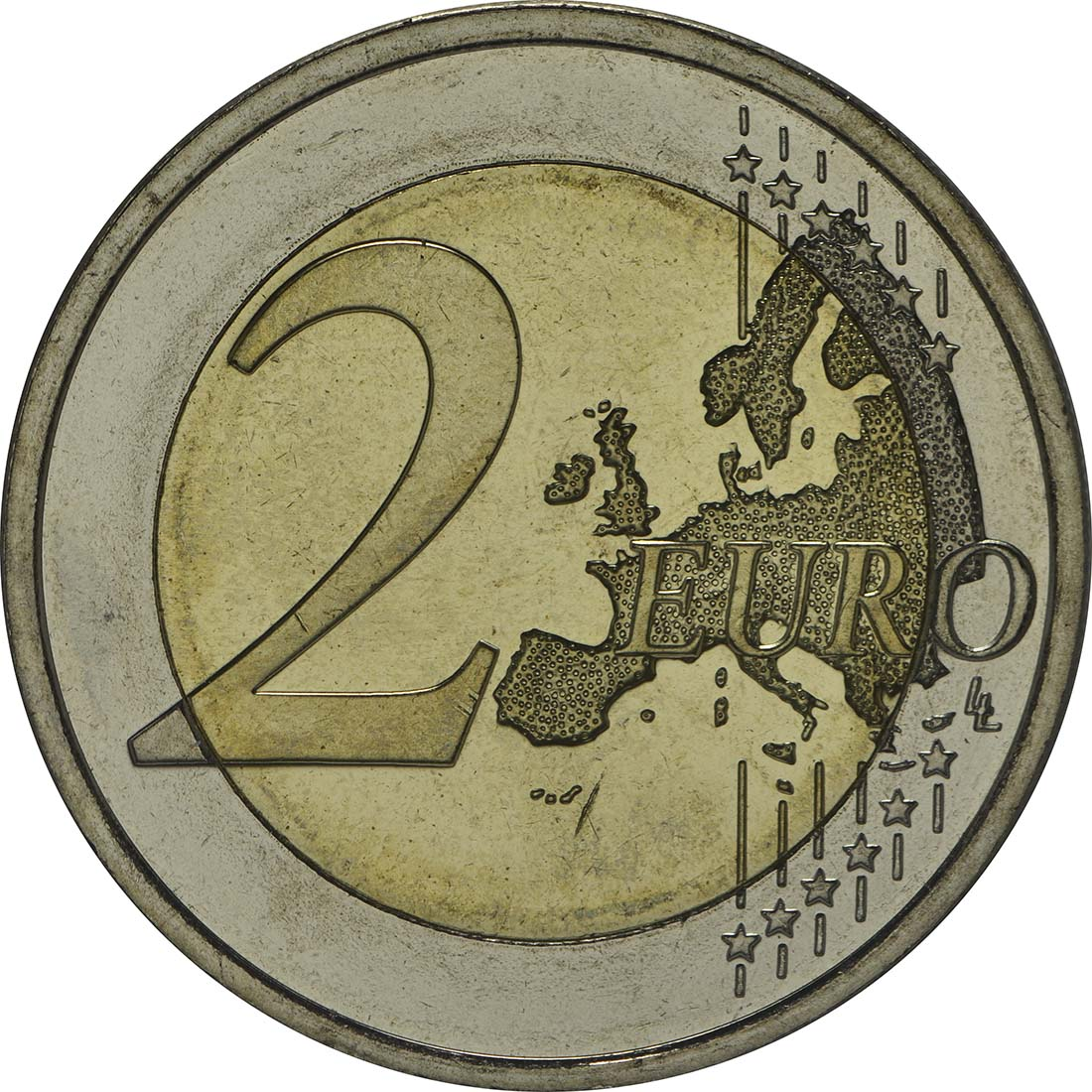 Vorderseite :Finnland : 2 Euro Tove Jansson  2014 bfr