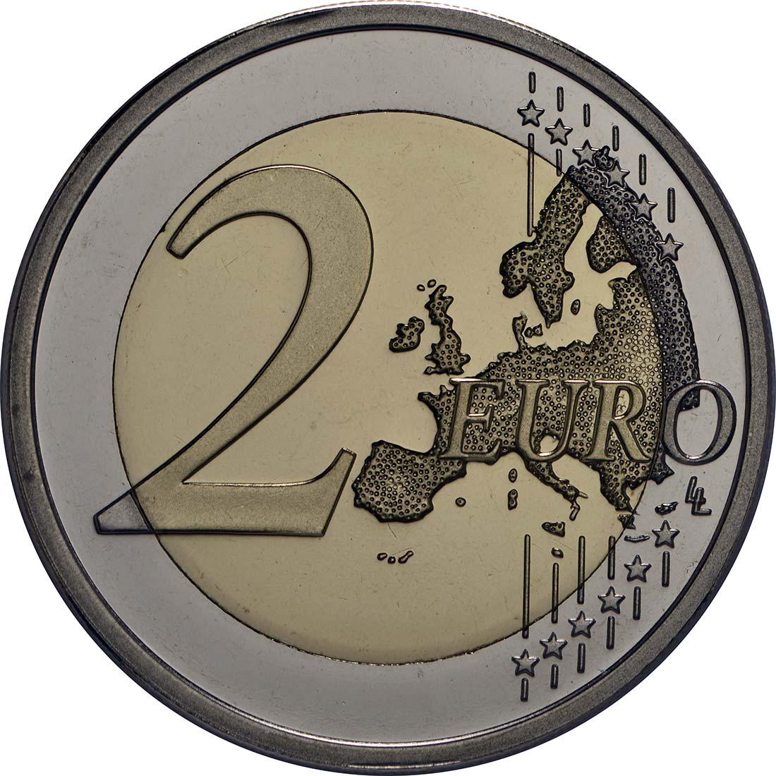 Vorderseite :Finnland : 2 Euro Tove Jansson  2014 PP