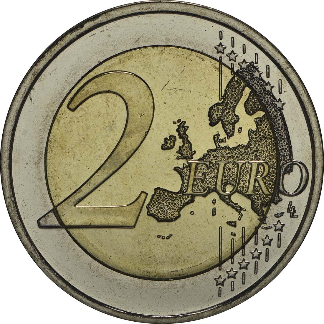 Vorderseite:Finnland : 2 Euro Tapiovaara  2014 bfr