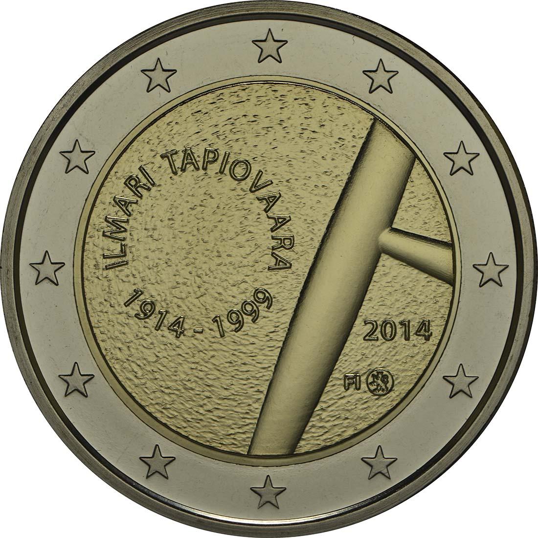 Rückseite:Finnland : 2 Euro Tapiovaara  2014 PP