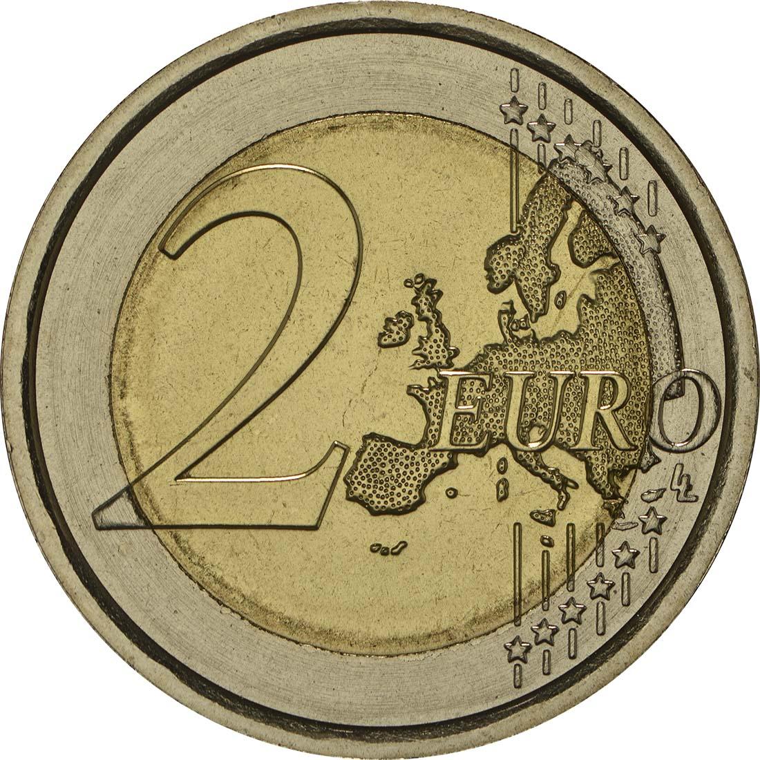 Vorderseite :Italien : 2 Euro Carabinieri  2014 bfr