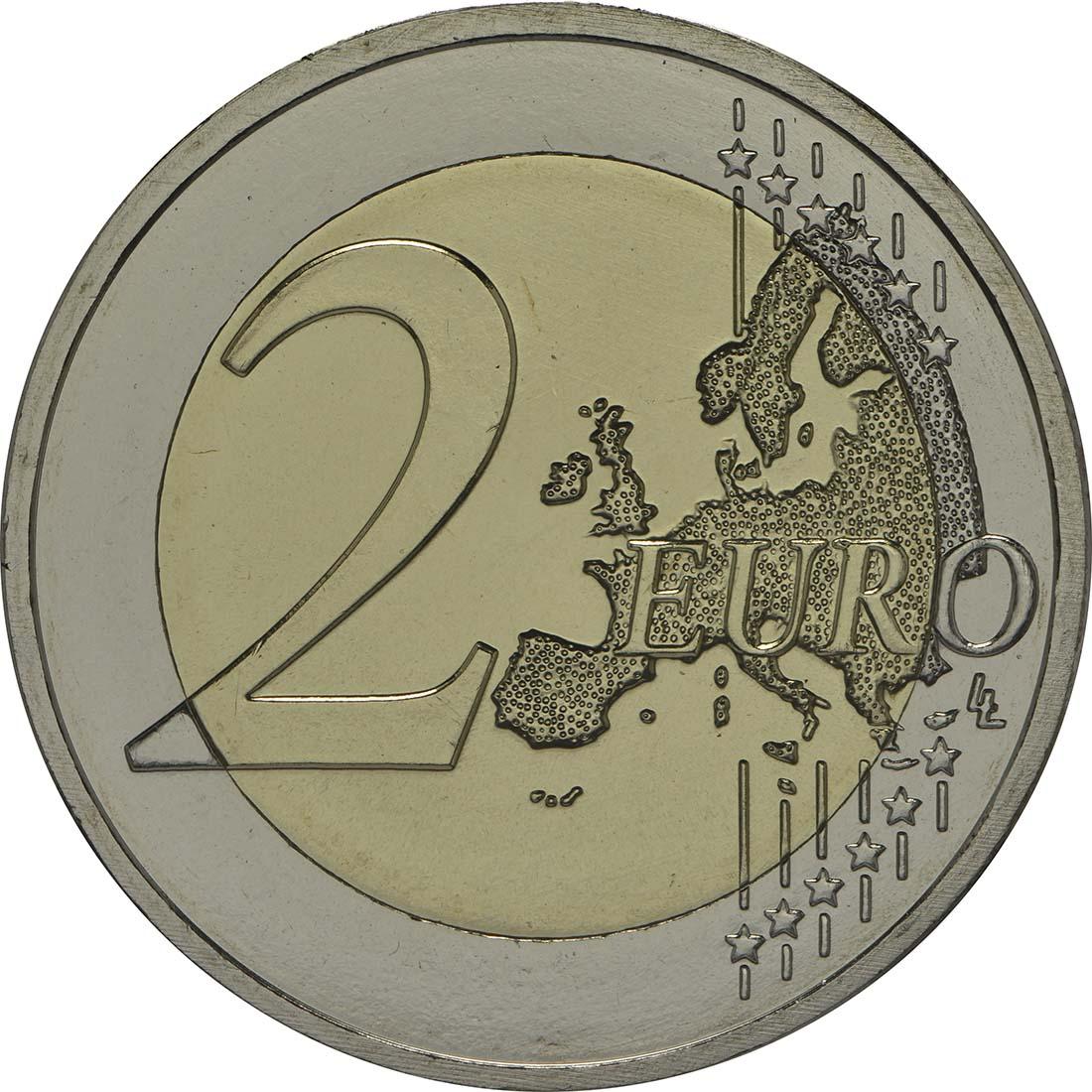 Vorderseite:Malta : 5,88 Euro KMS Malta inkl. 2 Euro Gedenkmünze Unabhängigkeit  2014 Stgl.