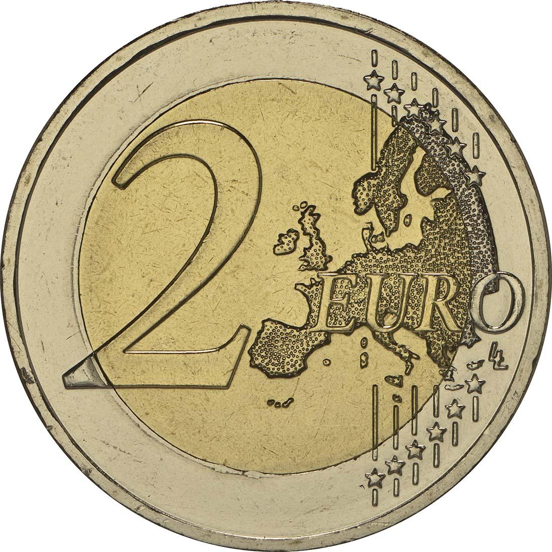 Vorderseite :Griechenland : 2 Euro Domenikos Theotokopoulos El Greco  2014 bfr