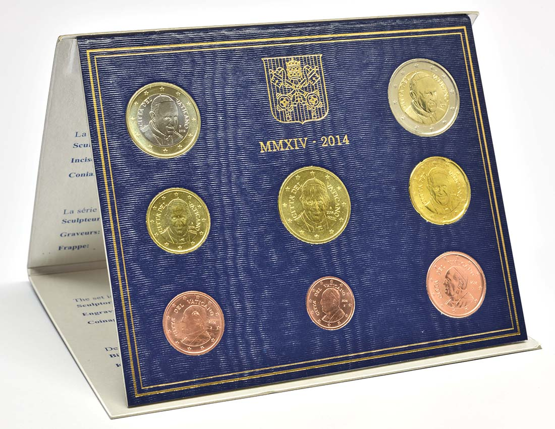 Lieferumfang:Vatikan : 3,88 Euro KMS Vatikan Franziskus  2014 Stgl.