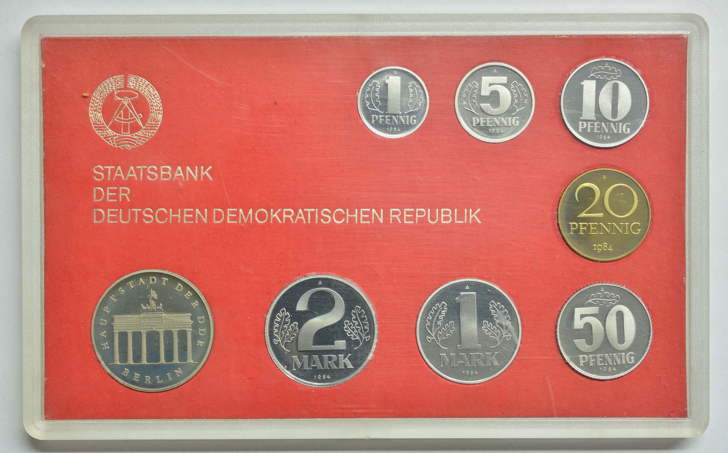 Lieferumfang:DDR :   Brandenburger Tor  1984 PP