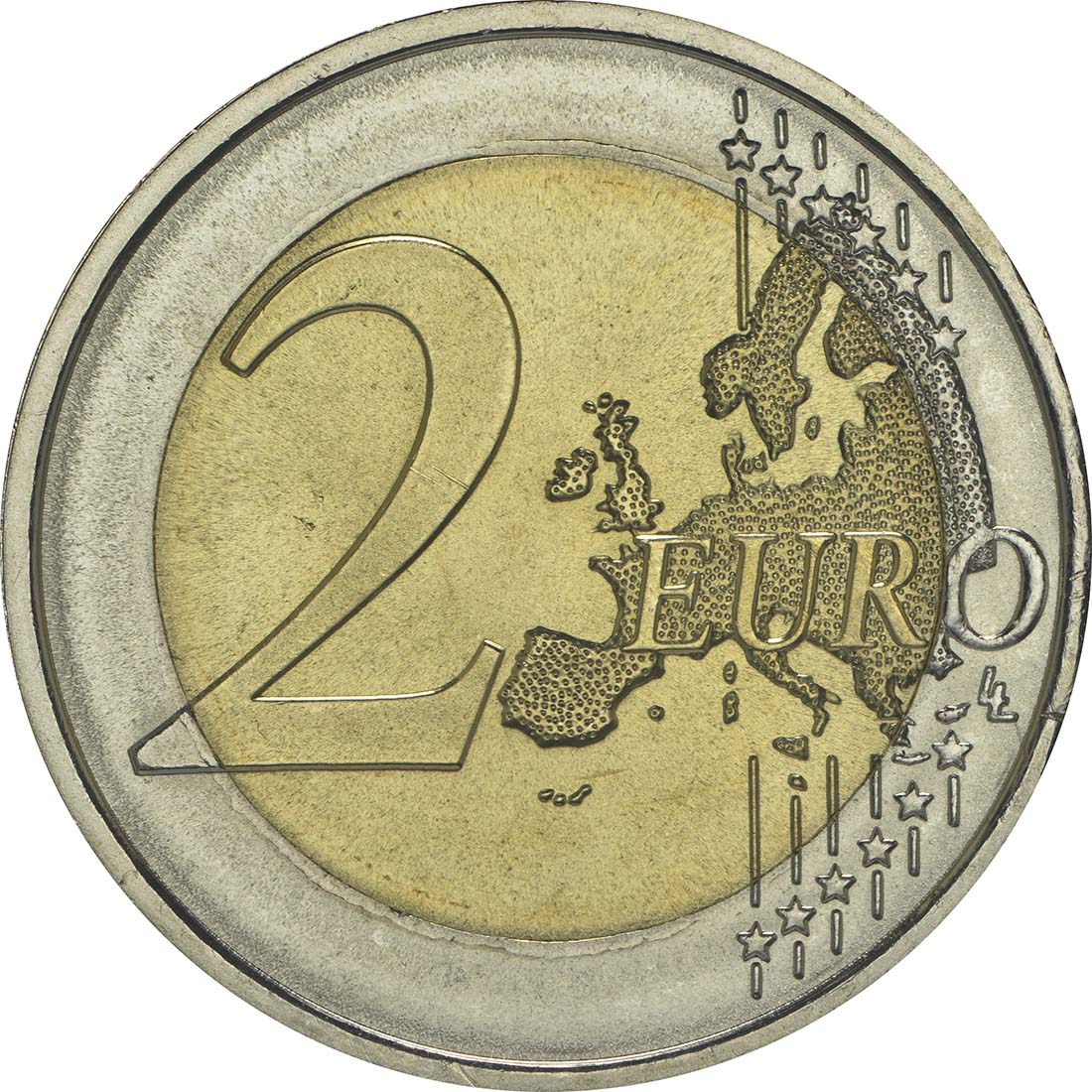 Vorderseite :Portugal : 2 Euro Internationales Jahr der familiären Landwirtschaft  2014 bfr