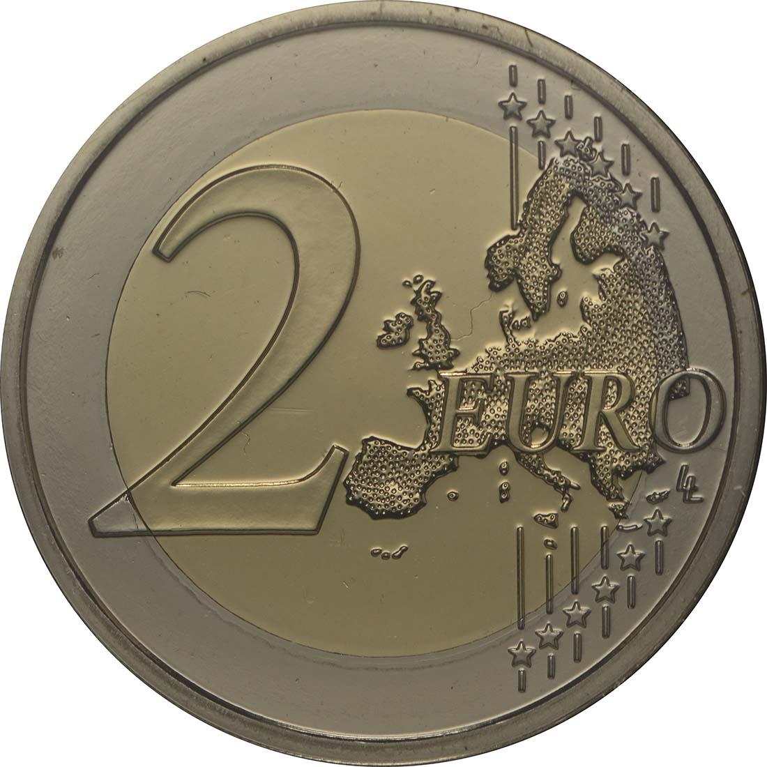 Vorderseite :Portugal : 2 Euro Internationales Jahr der familiären Landwirtschaft  2014 Stgl.