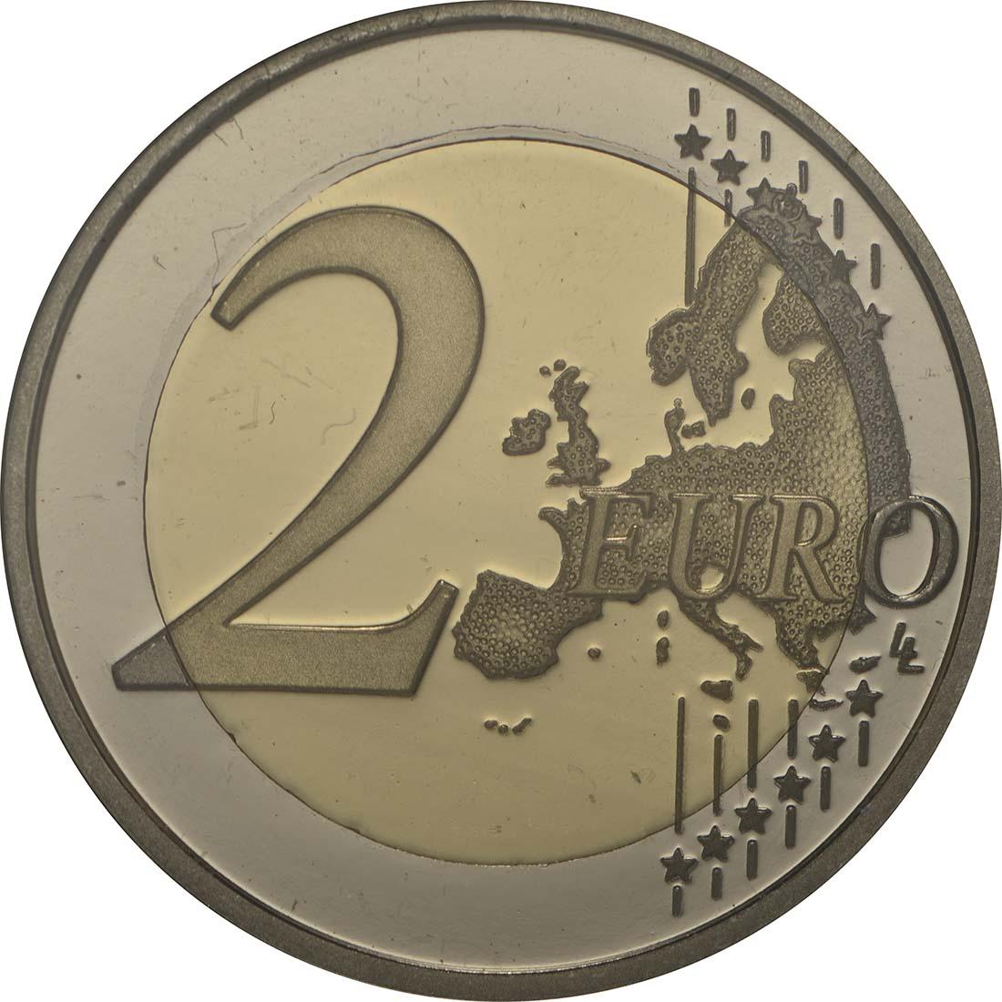 Vorderseite :Portugal : 2 Euro Internationales Jahr der familiären Landwirtschaft  2014 PP