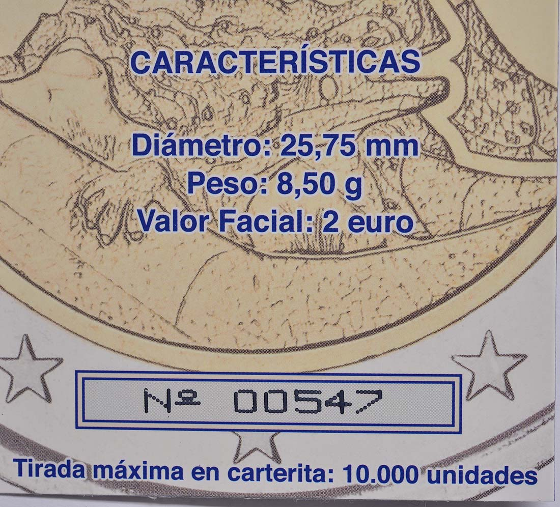 Zertifikat :Spanien : 2 Euro Park Güell - Antonio Gaudi  2014 PP