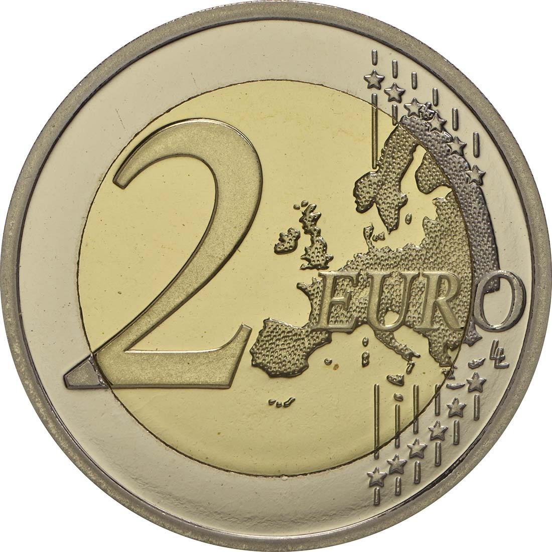 Vorderseite:Belgien : 2 Euro 150 Jahre Rotes Kreuz in Belgien  2014 PP