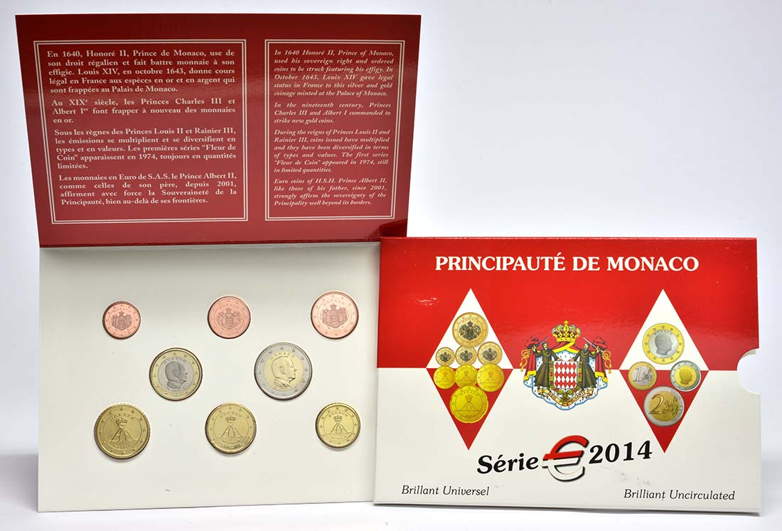 Lieferumfang:Monaco : 3,88 Euro KMS Monaco  2014 Stgl.