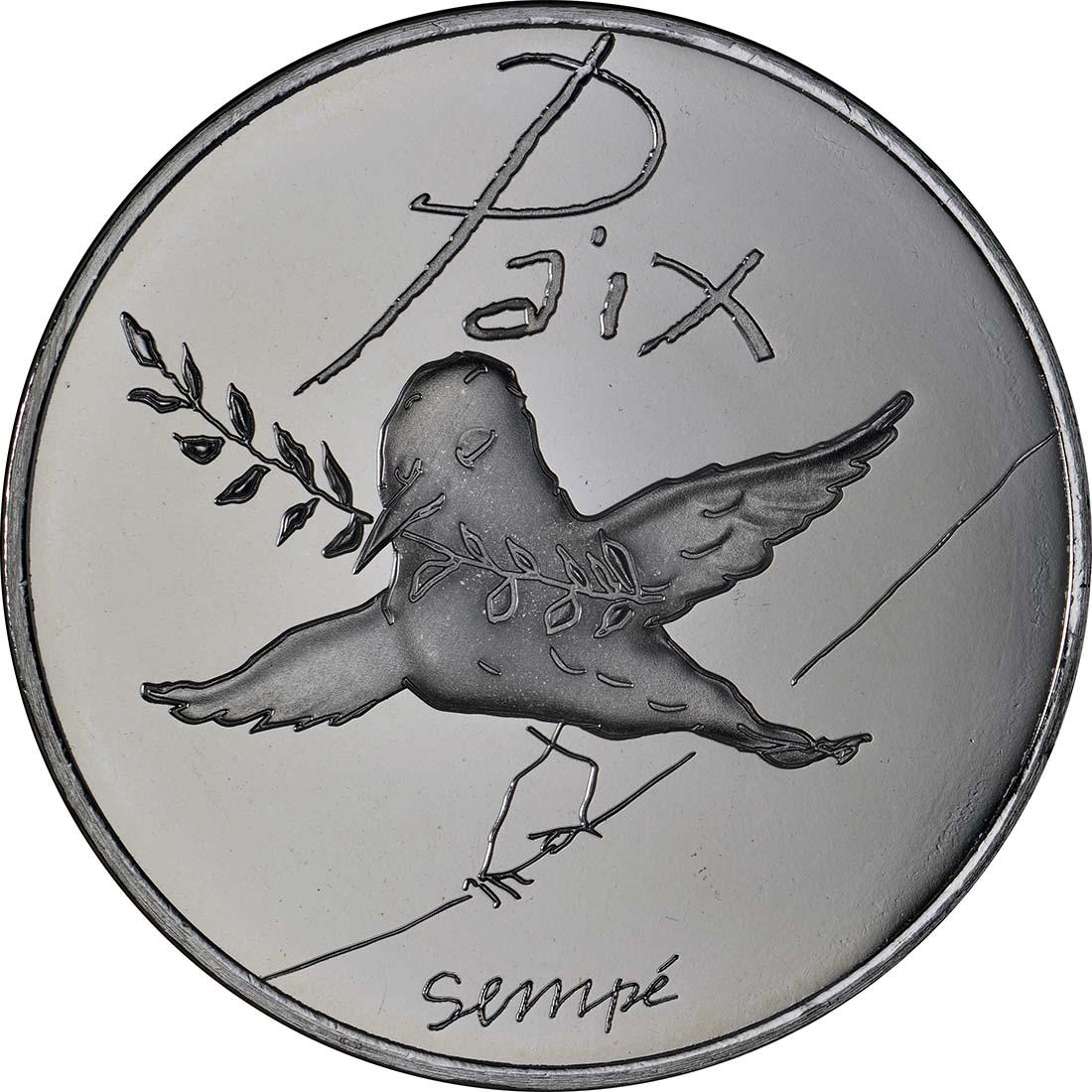 Vorderseite:Frankreich : 50 Euro Frühling/Sommer Paix  2014 PP