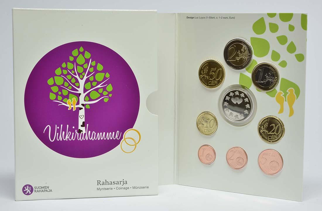 Lieferumfang:Finnland : 3,88 Euro KMS Finnland - Hochzeit  2015 Stgl.