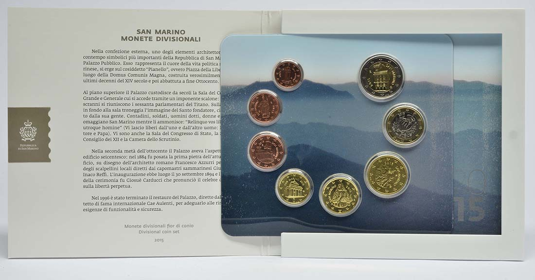 Lieferumfang:San Marino : 3,88 Euro KMS San Marino  2015 Stgl.