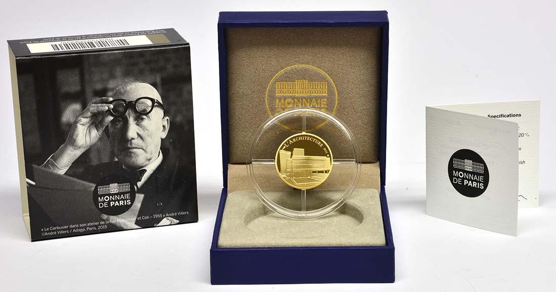 Lieferumfang:Frankreich : 50 Euro Le Corbusier  2015 PP