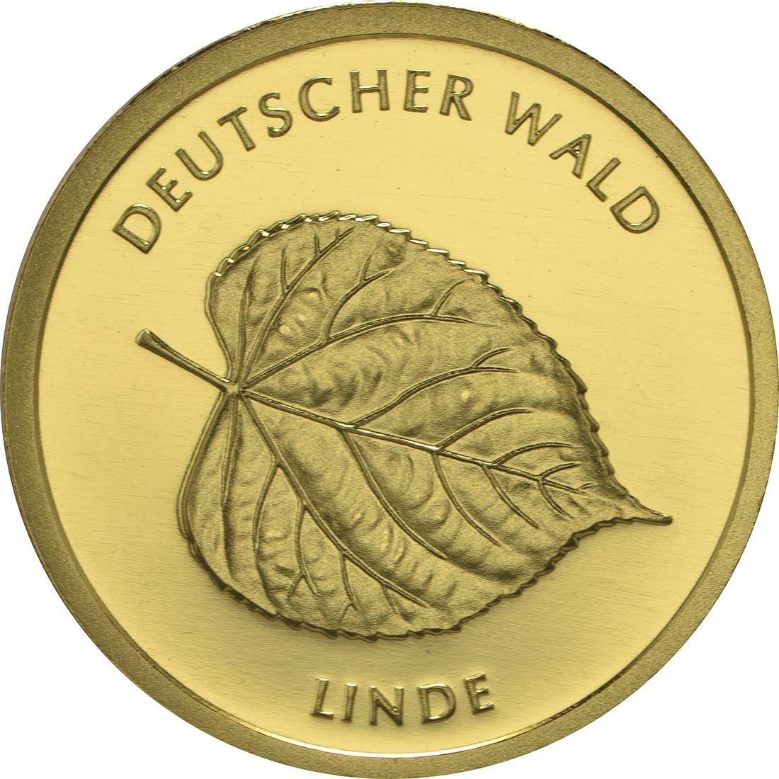 Vorderseite :Deutschland : 20 Euro Linde  2015 Stgl.
