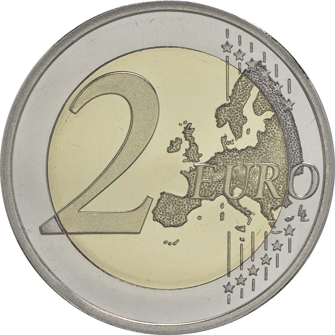 Vorderseite:Finnland : 2 Euro Jean Sibelius  2015 PP