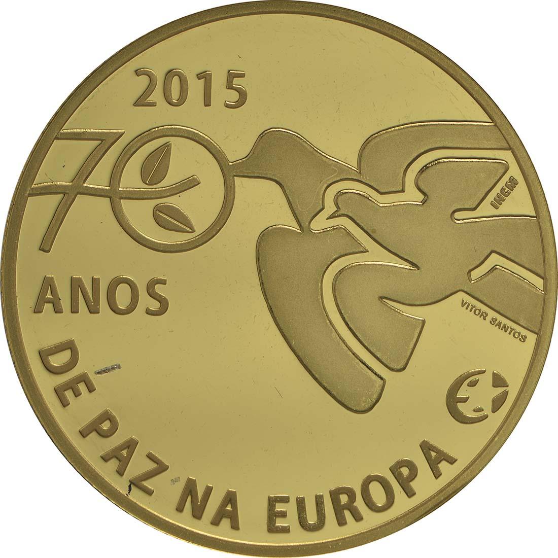 Portugal 25 Euro 70 Jahre Frieden In Europa 2015 Pp