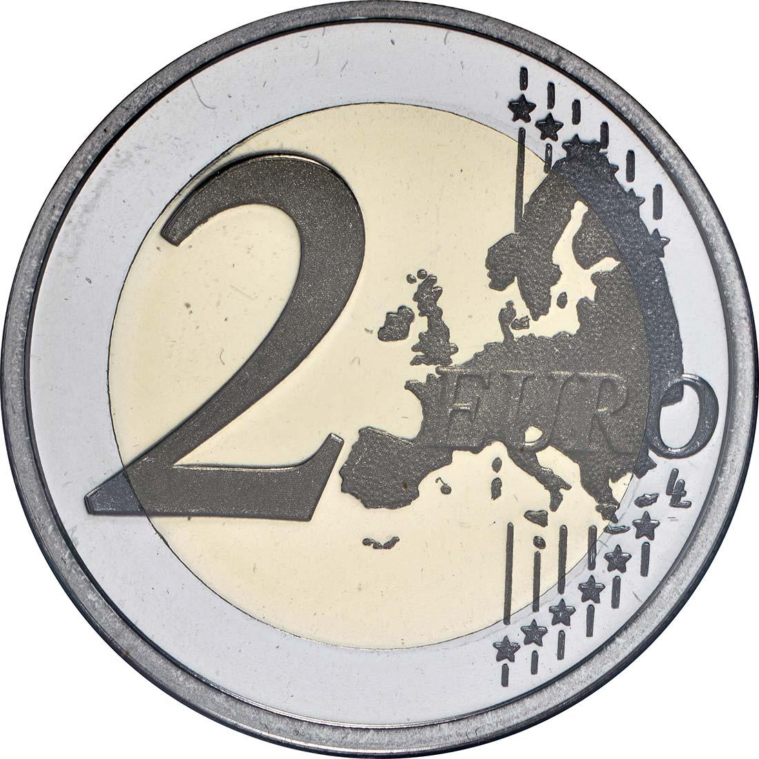 Vorderseite :Portugal : 2 Euro 500 Jahre seit dem ersten Kontakt mit Timor  2015 PP