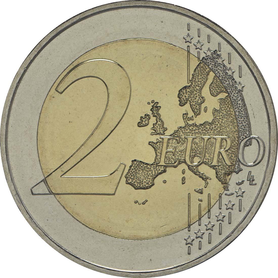 Vorderseite :Lettland : 2 Euro EU Ratspräsidentschaft  2015 bfr