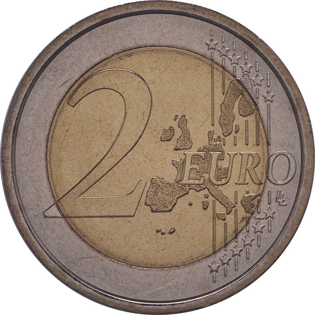 Vorderseite:San Marino : 2 Euro Bartolomeo Borghesi  2004 vz/Stgl.
