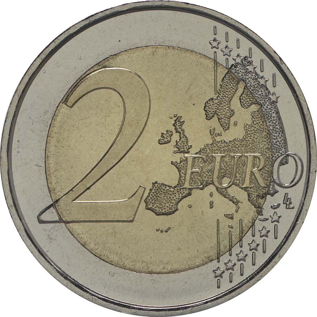 Vorderseite :Spanien : 2 Euro Altamira  2015 bfr