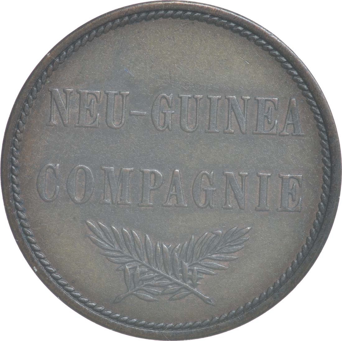 Rückseite:Deutschland : 2 Pfennig   1894 vz/Stgl.