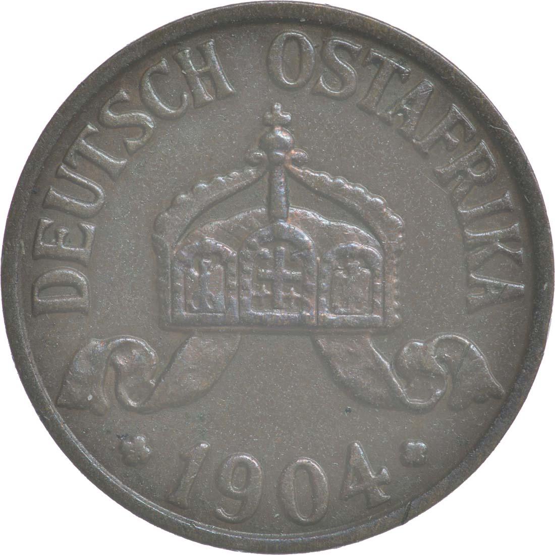 Rückseite:Deutschland : 1/2 Heller   1904 vz.