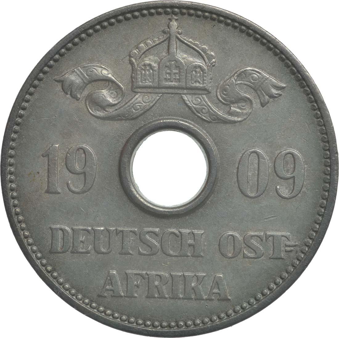 Rückseite :Deutschland : 10 Heller   1909 vz.