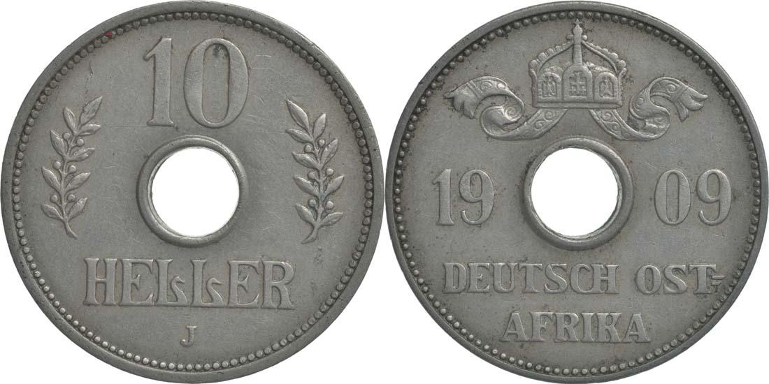Deutschland : 10 Heller   1909 vz.