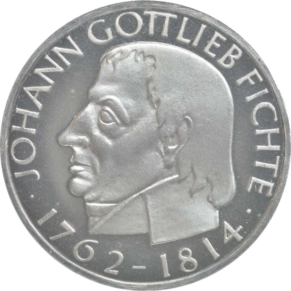 Vorderseite:Deutschland : 5 DM Fichte  1964 PP