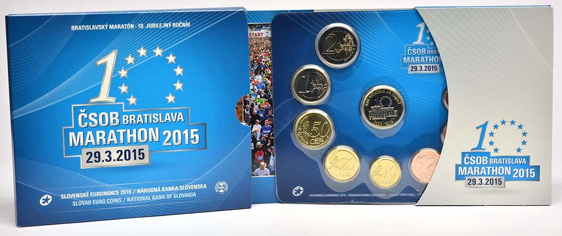 Lieferumfang:Slowakei : 3,88 Euro KMS Slowakei Marathon  2015 Stgl.
