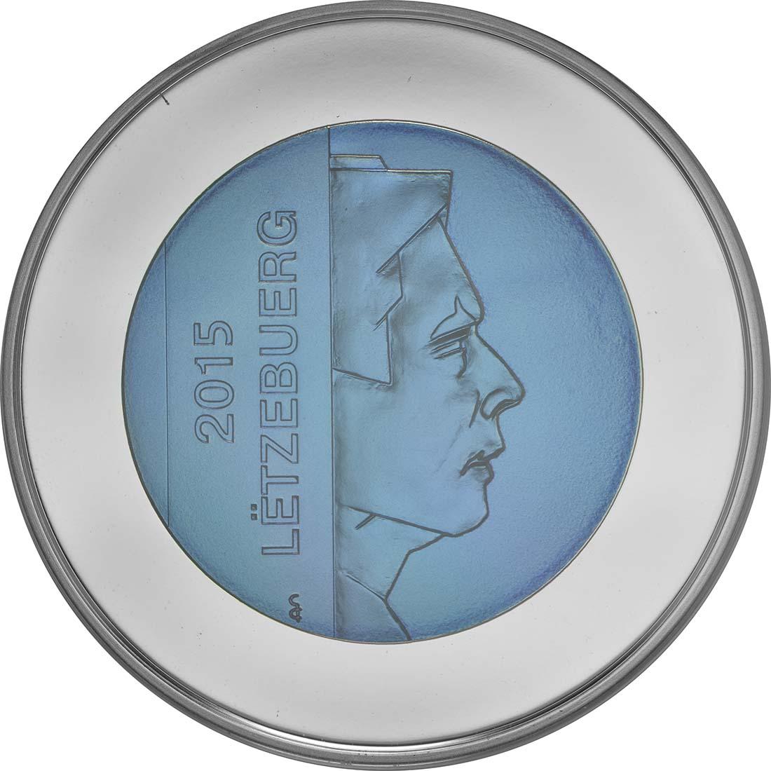 Rückseite:Luxemburg : 5 Euro Burg Brandenbourg  2015 PP
