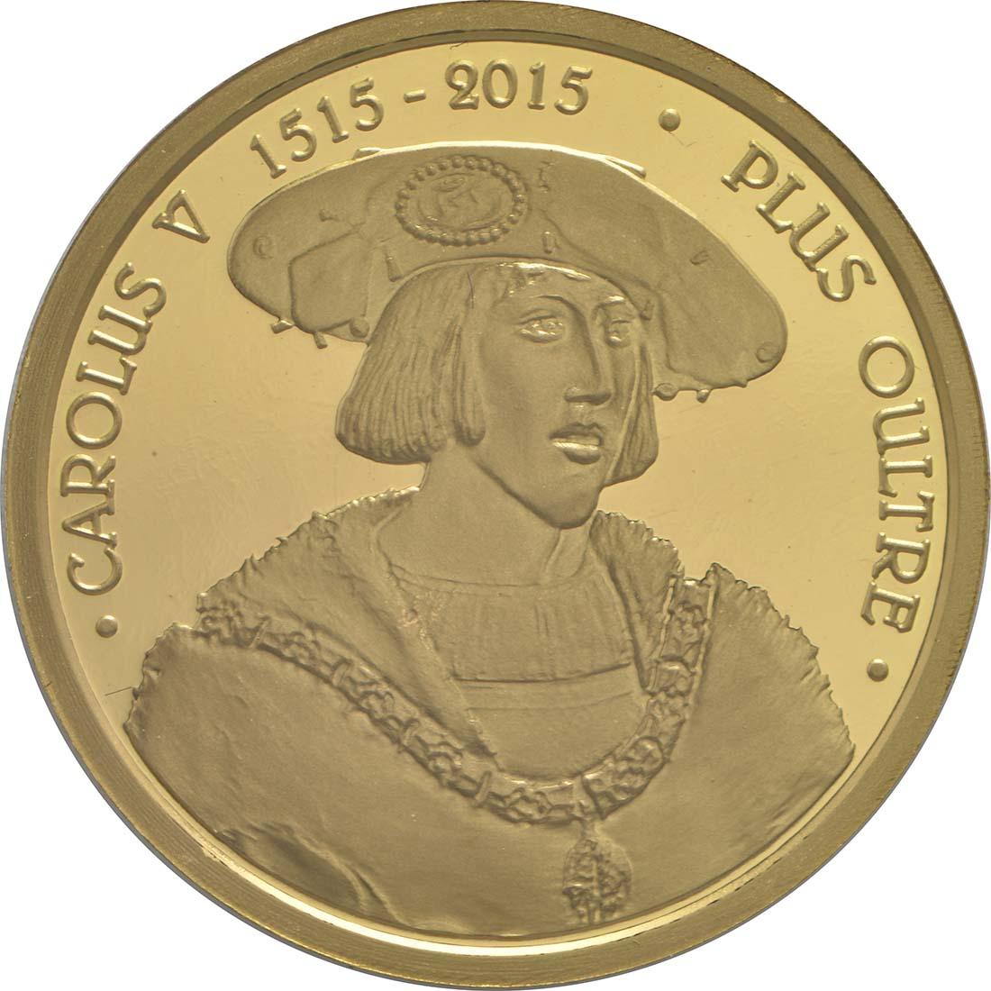 Vorderseite:Belgien : 25 Euro Karl V.  2015 PP