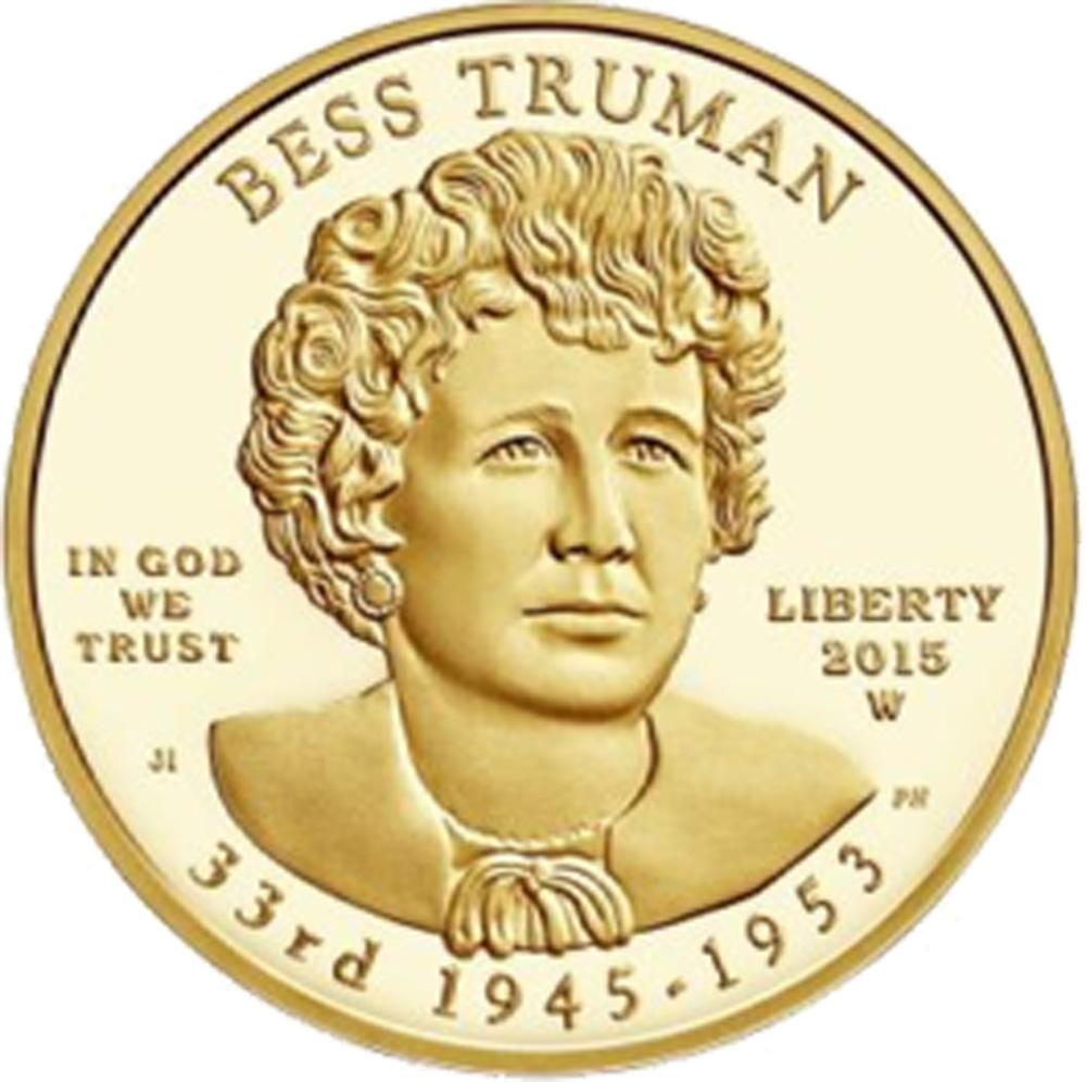 USA : 10 Dollar Elisabeth Truman  2015 Stgl.